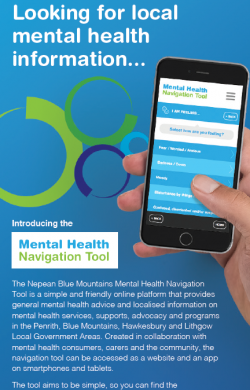 Mental Health Navigation App DL Flyer